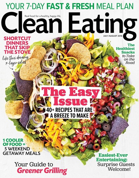 Clean Eating Cover - 7/1/2018