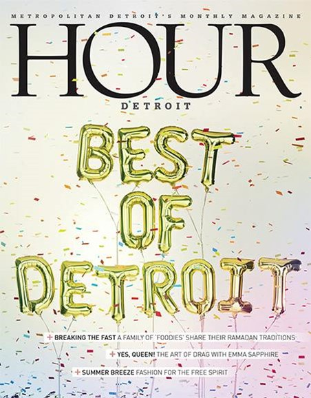 Hour Detroit Cover - 6/1/2018