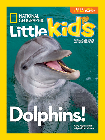 National Geographic Little Kids Cover - 7/1/2018