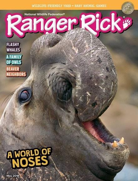 Ranger Rick Cover - 5/1/2018