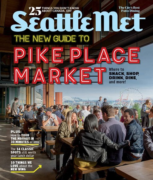 Seattle Met Cover - 7/1/2018