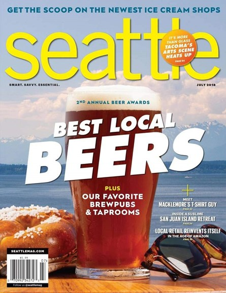 Seattle Magazine Cover - 7/1/2018