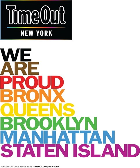 Time Out New York Cover - 6/20/2018