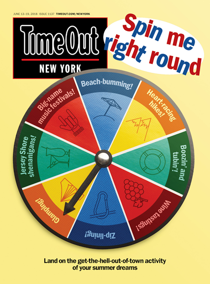 Time Out New York Cover - 6/13/2018