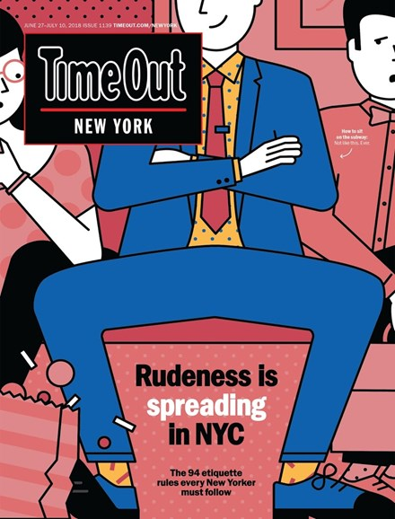 Time Out New York Cover - 6/27/2018