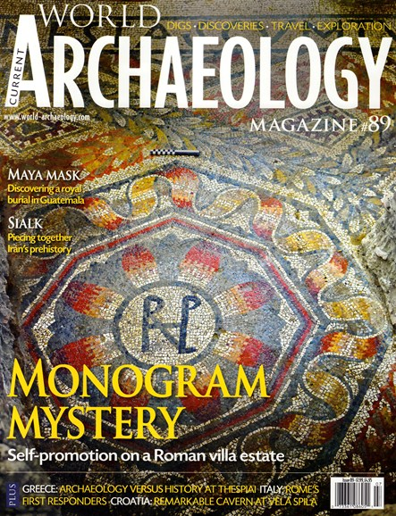 Current World Archaeology Cover - 6/1/2018