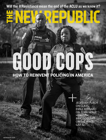 The New Republic Cover - 7/1/2018