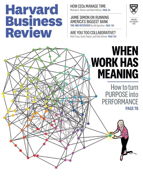 Harvard Business Review Cover - 7/1/2018