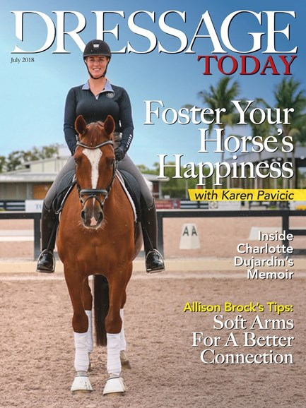 Dressage Today Cover - 7/1/2018