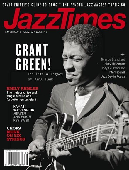 JazzTimes Cover - 8/1/2018