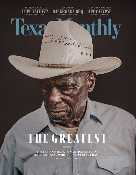 Texas Monthly Cover - 7/1/2018