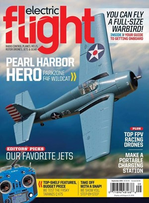 Electric Flight Magazine | 9/1/2018 Cover