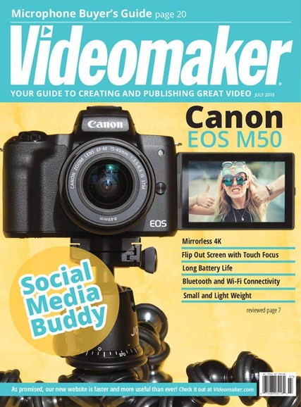 Videomaker Cover - 7/1/2018
