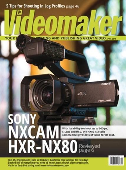 Videomaker Cover - 4/1/2018