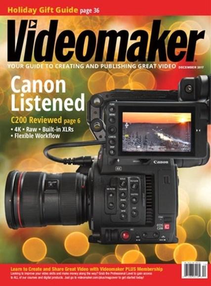 Videomaker Cover - 12/1/2017
