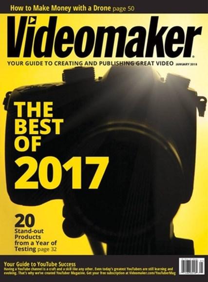 Videomaker Cover - 1/1/2018