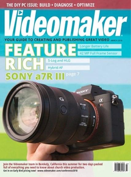 Videomaker Cover - 3/1/2018