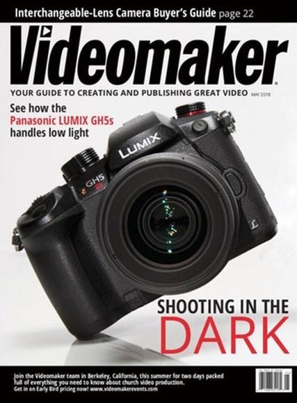 Videomaker Cover - 5/1/2018