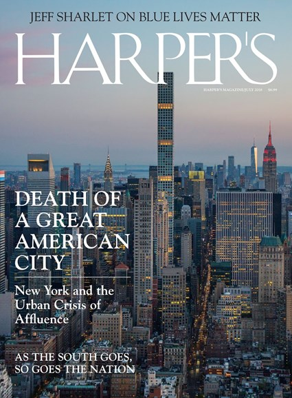 Harper's Cover - 7/1/2018