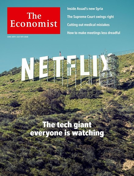 The Economist Cover - 6/30/2018
