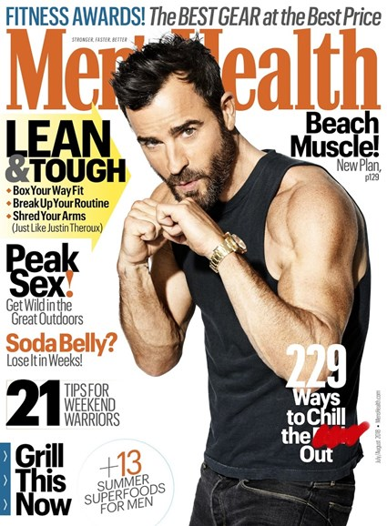 Men's Health Cover - 7/1/2018