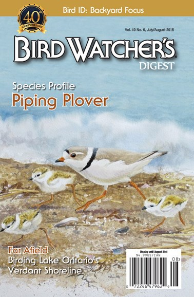 Bird Watcher's Digest Cover - 7/1/2018