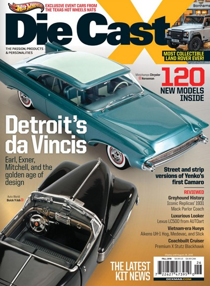 Diecast X Cover - 9/1/2018