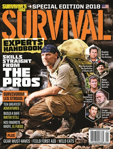 Survivor's Edge Cover - 8/1/2018