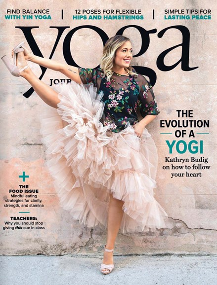 Yoga Journal Cover - 7/1/2018