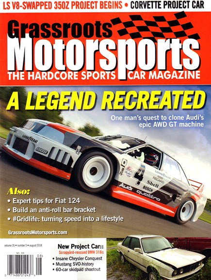 Grassroots Motorsports Cover - 8/1/2018
