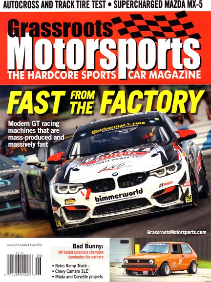 Grassroots Motorsports Cover - 6/1/2018