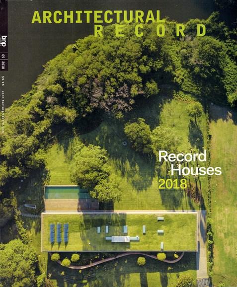 Architectural Record Cover - 5/1/2018