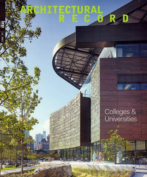 Architectural Record Cover - 11/1/2017