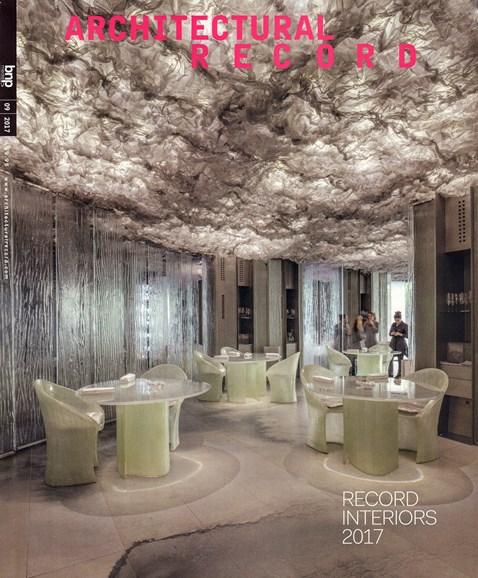 Architectural Record Cover - 9/1/2017