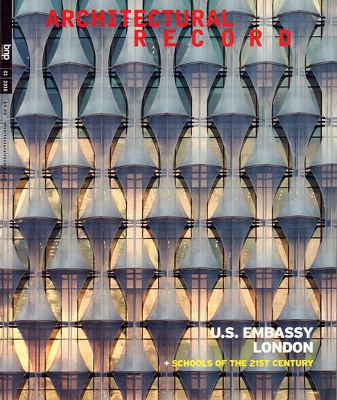 Architectural Record Cover - 1/1/2018