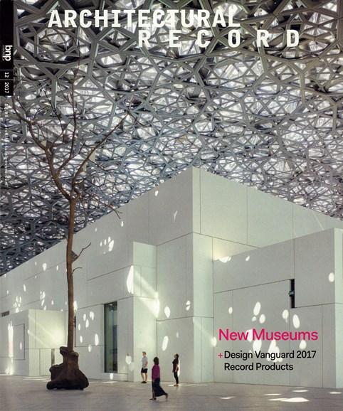 Architectural Record Cover - 12/1/2017
