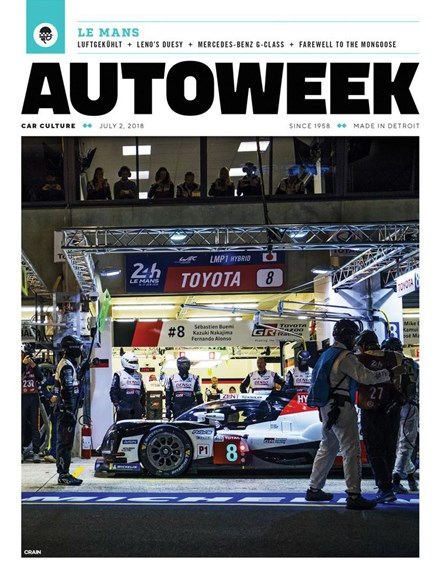 Autoweek Cover - 7/2/2018