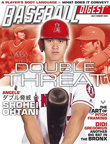 Baseball Digest Cover - 7/1/2018