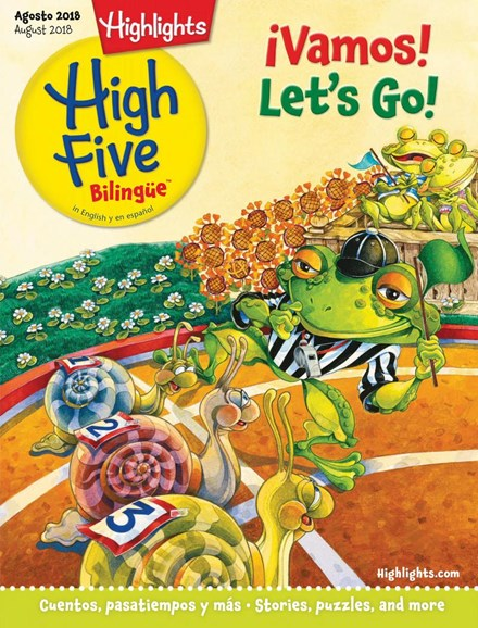 Highlights High Five Bilingue Cover - 8/1/2018