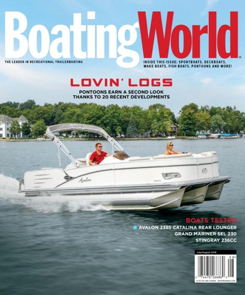 Boating World Cover - 7/1/2018