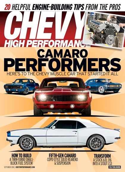 Chevy High Performance Cover - 9/1/2018