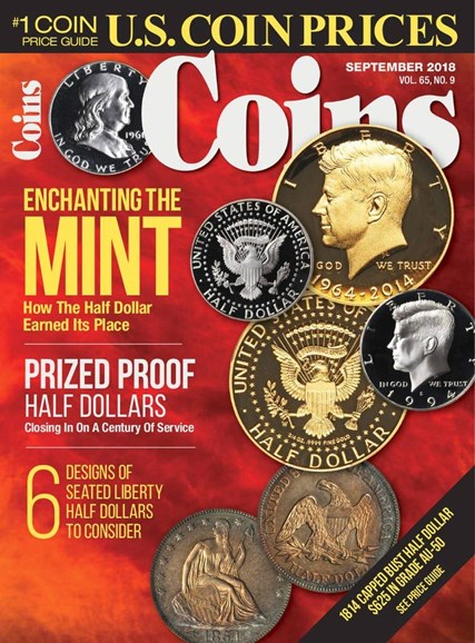 Coins Cover - 9/1/2018
