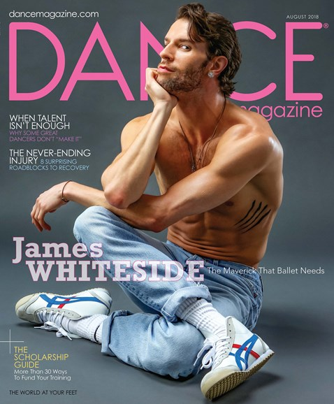 Dance Magazine Cover - 8/1/2018