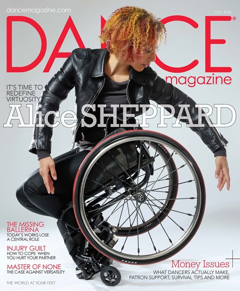 Dance Magazine Cover - 7/1/2018
