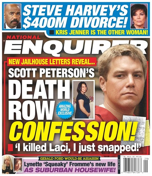 National Enquirer Cover - 7/16/2018