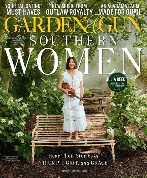 Garden & Gun Cover - 8/1/2018