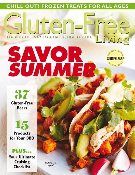 Gluten-Free Living Cover - 7/1/2018