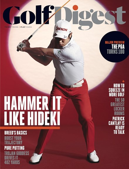 Golf Digest Cover - 8/1/2018