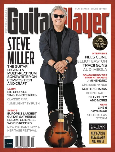 Guitar Player Cover - 8/1/2018
