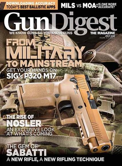 Gun Digest Cover - 7/1/2018